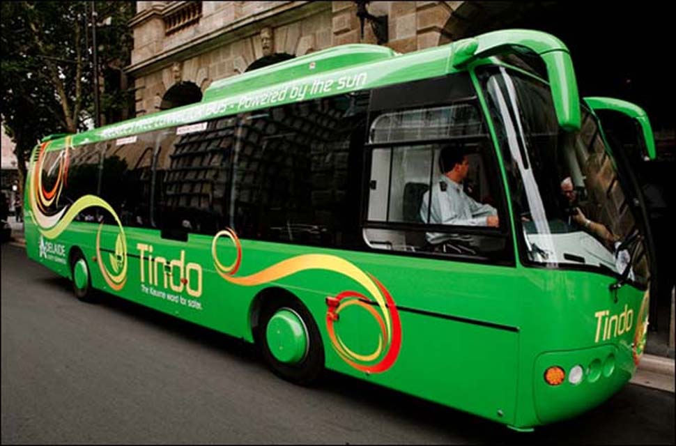 Adelaide's Solar Buses Could Be the World's Greenest Public Transports