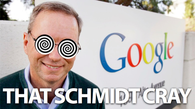 Eric Schmidt Says Government Surveillance Is Just Part of Our Society