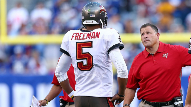 Josh Freeman says he isn't planning to request a trade
