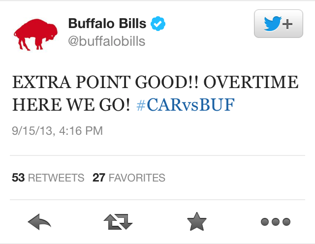 Emotional E.J. Manuel Leads A Game-Winning Drive In Buffalo