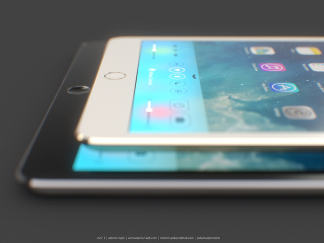 A Goldpagne iPad Mini Would Actually Look Really Nice