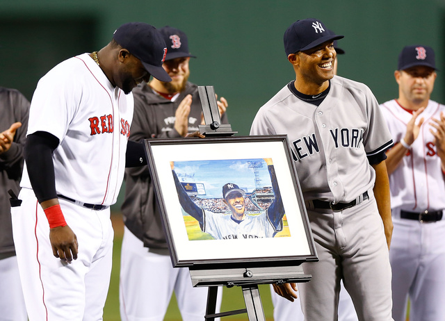 The Red Sox Made Mariano Rivera's Ceremony All About The Red So…