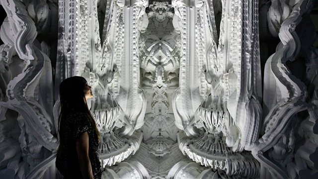This Alien-Like Cathedral Is 3D-Printed Out of Sand