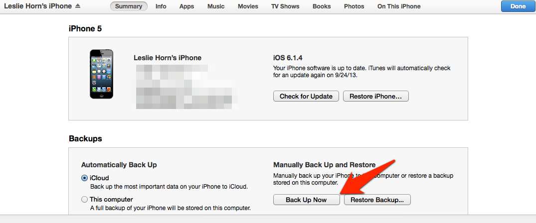 Reminder: Back Your Stuff Up Before iOS 7 Drops Tomorrow