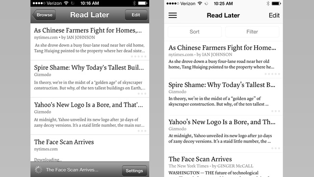 The New Instapaper: Reading Later in iOS 7 Will Be Sleeker and Simpler