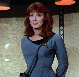 The Star Trek: TNG crew looks amazing in Original Series uniforms