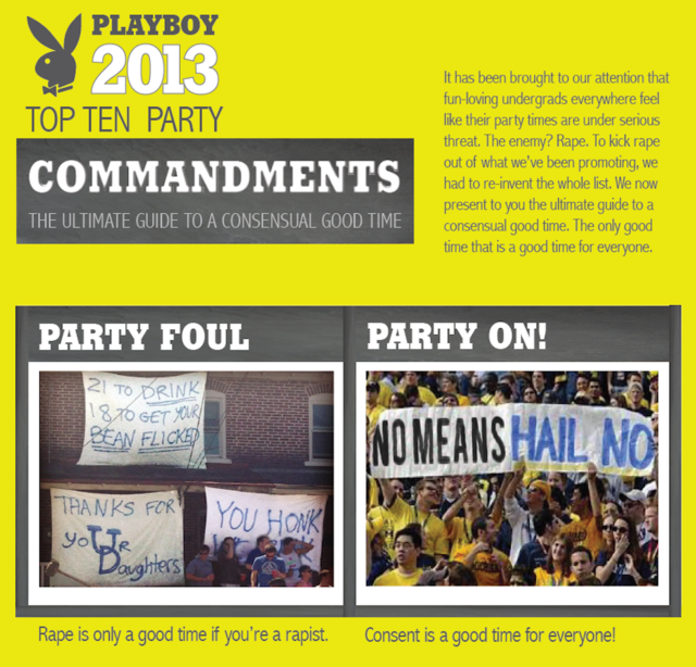Someone Hacked Playboy's College Party Guide and Made It About Consent
