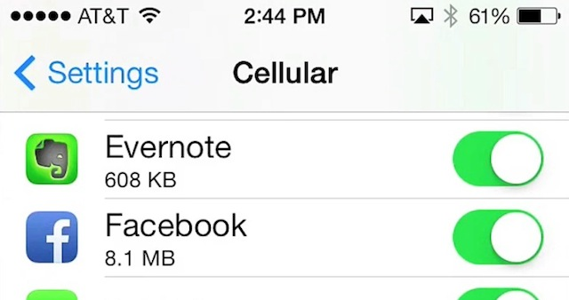 How to Find Everything That Moved in iOS 7