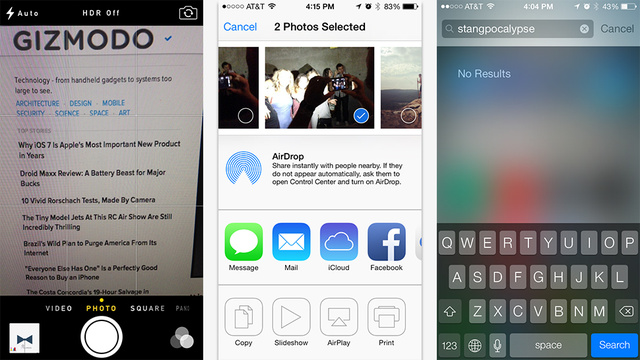 iOS 7 Review: Pretty Is as Pretty Does