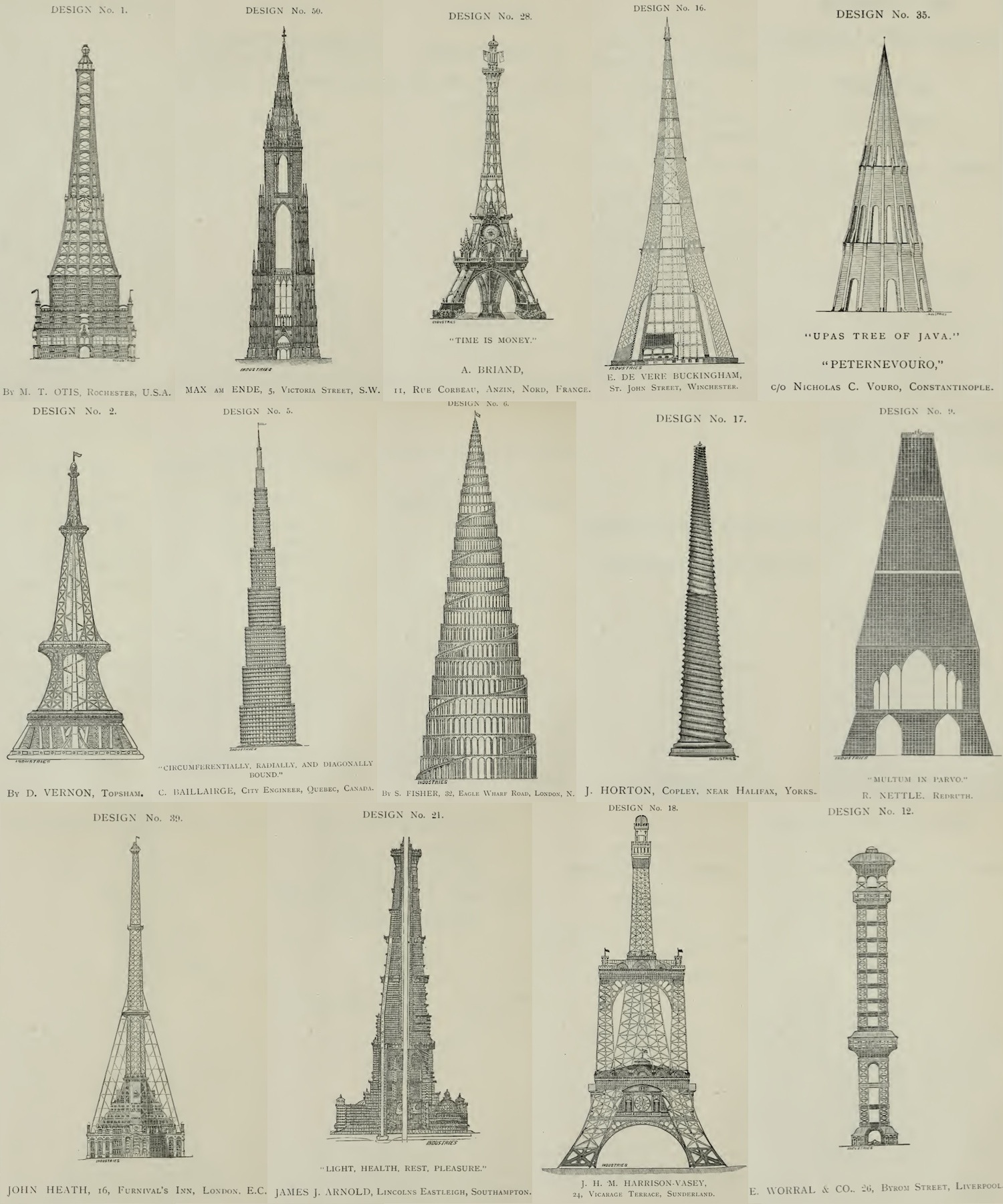 Folksonomy Designs For Great Architectural Landmarks