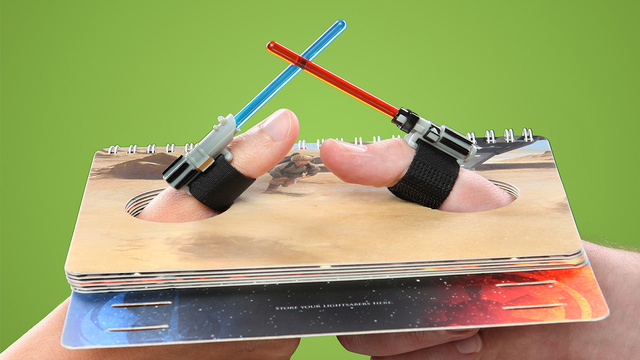 All Arguments Should Be Settled With Lightsaber Thumb Wrestling