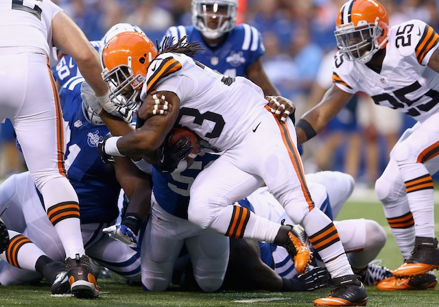 Browns Trade Trent Richardson To Colts For First-Round Pick. Sa…