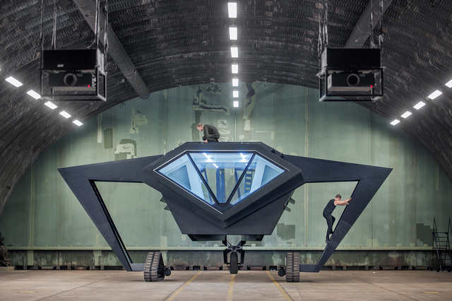This Menacing War Machine Is Actually a Mobile Research Lab