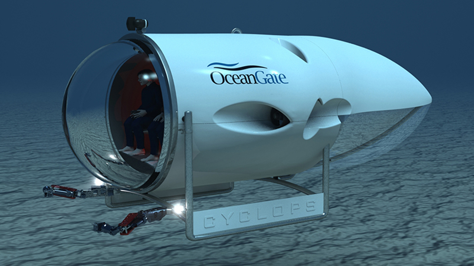This 5-Man Mini-Sub Brings the Deep Ocean's Treasures Within Reach