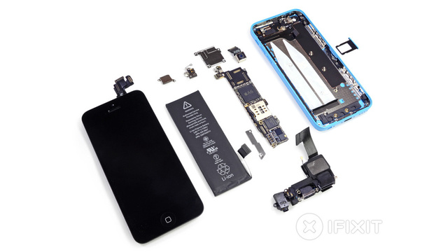 The iPhone 5C Teardown: An iPhone 5 Wrapped in Plastic