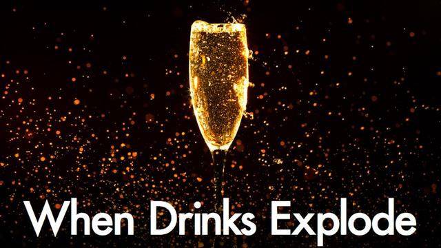 The deadly side of champagne bubbles