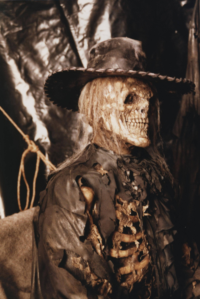 Skeleton cowboy costume - photo#20