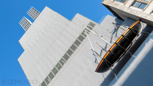 Every Museum Should Have a Flying RC Sailboat as a Sign