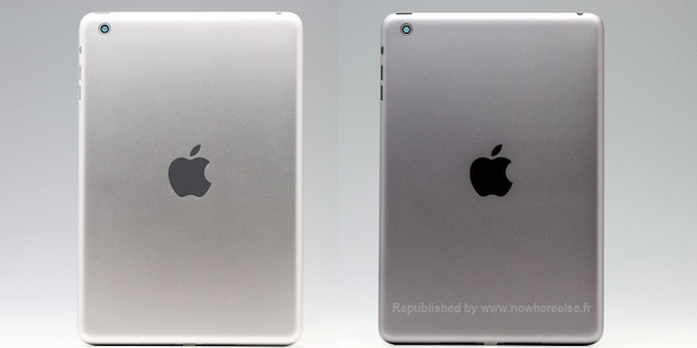 Leaked iPad Mini 2 Casing Shows a Possible 'Space Gray' Version