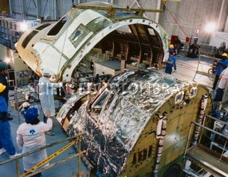 space shuttle challenger disaster cabin - photo #23