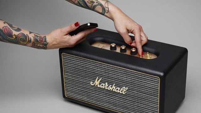 Marshall's New Bluetooth Speaker Oozes Vintage Style