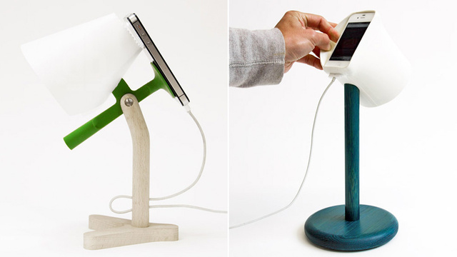 These Clever Docks Turn Your iPhone's Flash Into a Bedside Lamp
