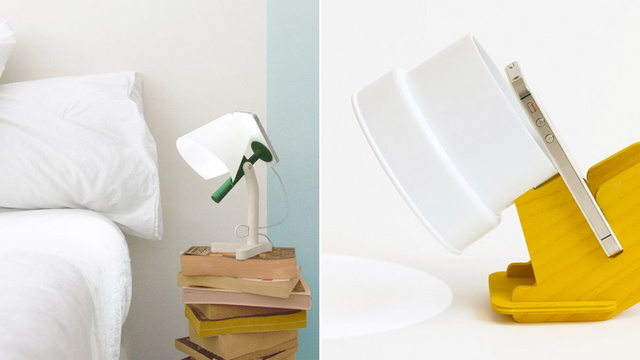 Clever Docks That Turn Your iPhone's Flash Into a Bedside Lamp