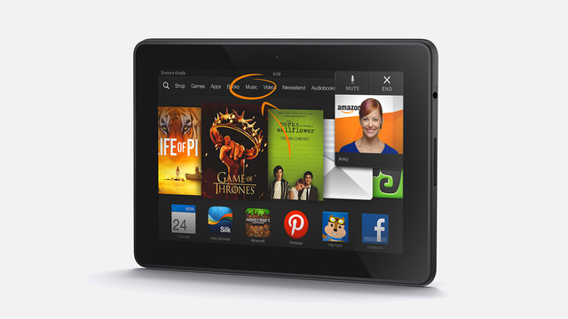 Amazon Building 24/7/365 Video Tech Support into Kindle Fires