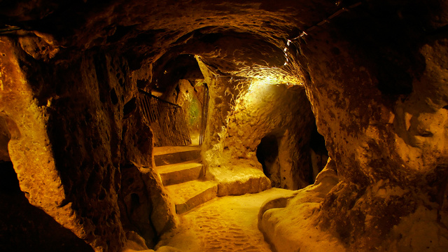 Inside the Intriguing Ancient Underground City of Derinkuyu