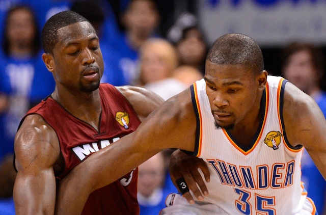 Dwyane Wade And Kevin Durant Are Now Feuding, Or Something