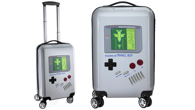 All This Game Boy Luggage Needs Is a Konami Code Seat Upgrade