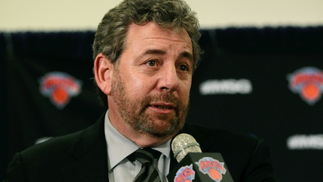 Knicks Owner Takes Beat Reporter's Question For First Time In 6…