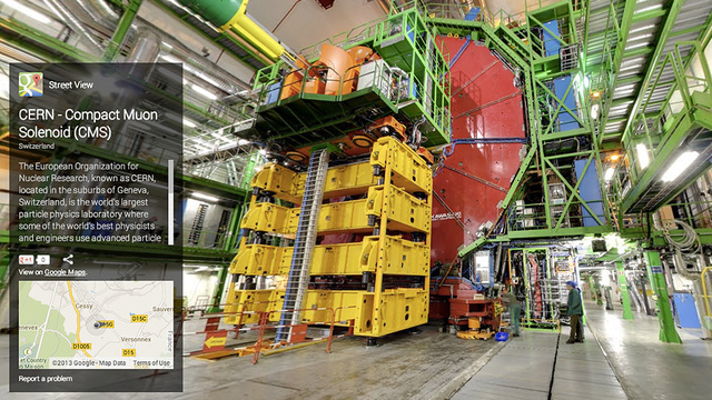 You Can Now Explore the Large Hadron Collider on Street View