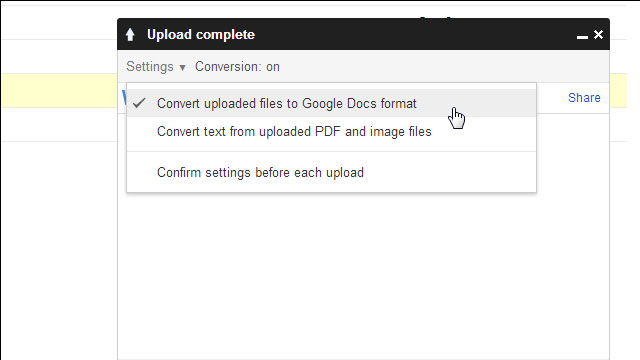 Convert Files to Google Docs Format to Save Space on Google Drive