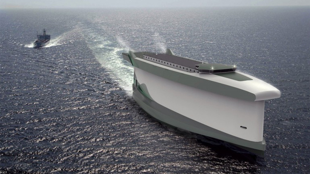This Massive Cargo Ship Will Harness the Wind With Its Hull