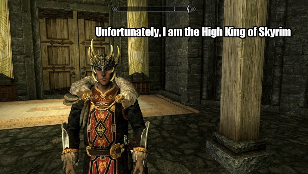 Skyrim how to force a follower to wear something