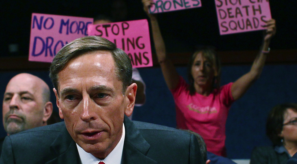 General David Petraeus' rocky first days as a lecturer at the City University of New York