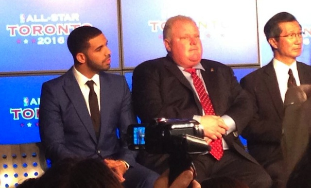 Drake And Rob Ford, Together At Last