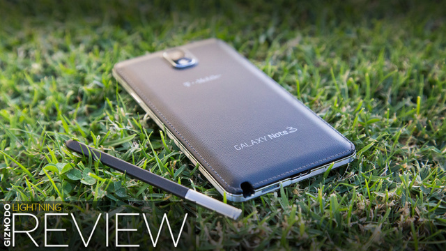 Samsung Galaxy Note 3 Review: Biggerer and Betterer