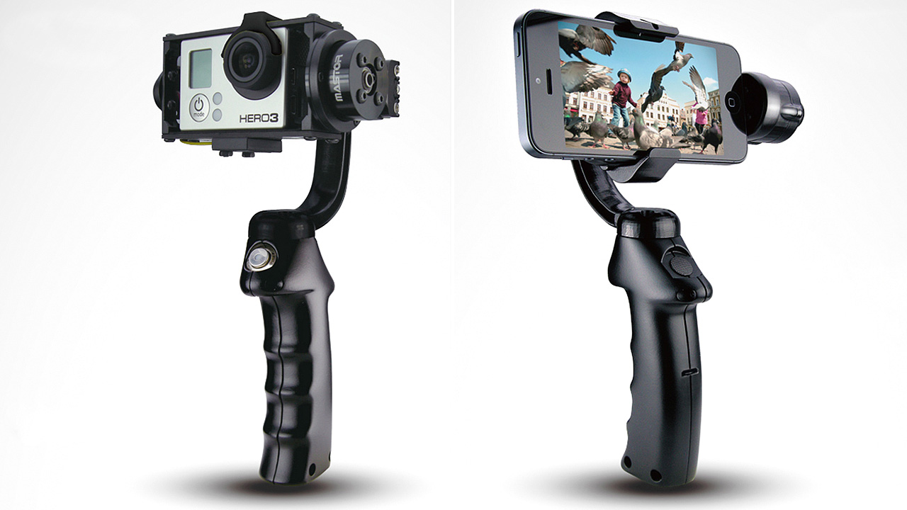Stabilised Action Cam And Smartphone Mounts Smooth Out ...