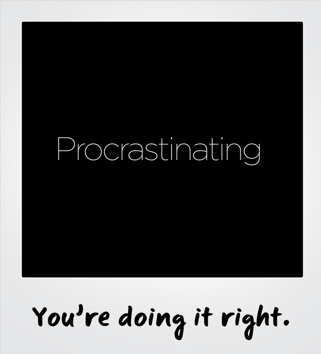 How Procrastination can become a Productive activity?