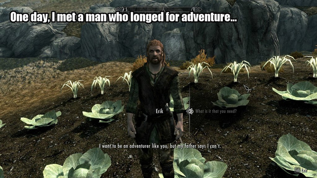 Okay, Maybe The High King of Skyrim Can Be A Nice Guy. Sorta.