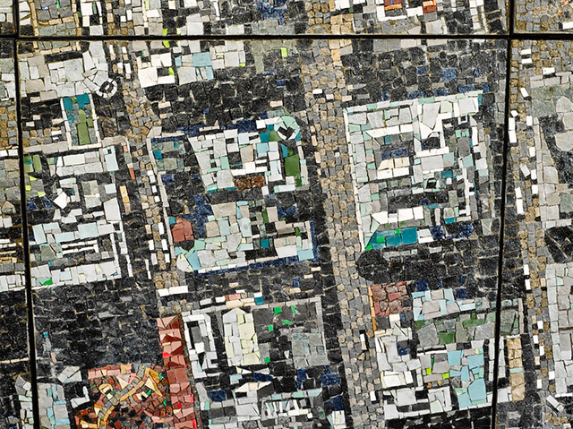 This Stone Mosaic of Johannesburg Looks Like a Real Satellite Map