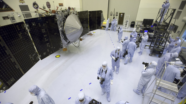 NASA's MAVEN Mission Spared Cancellation Despite Government Shutdown