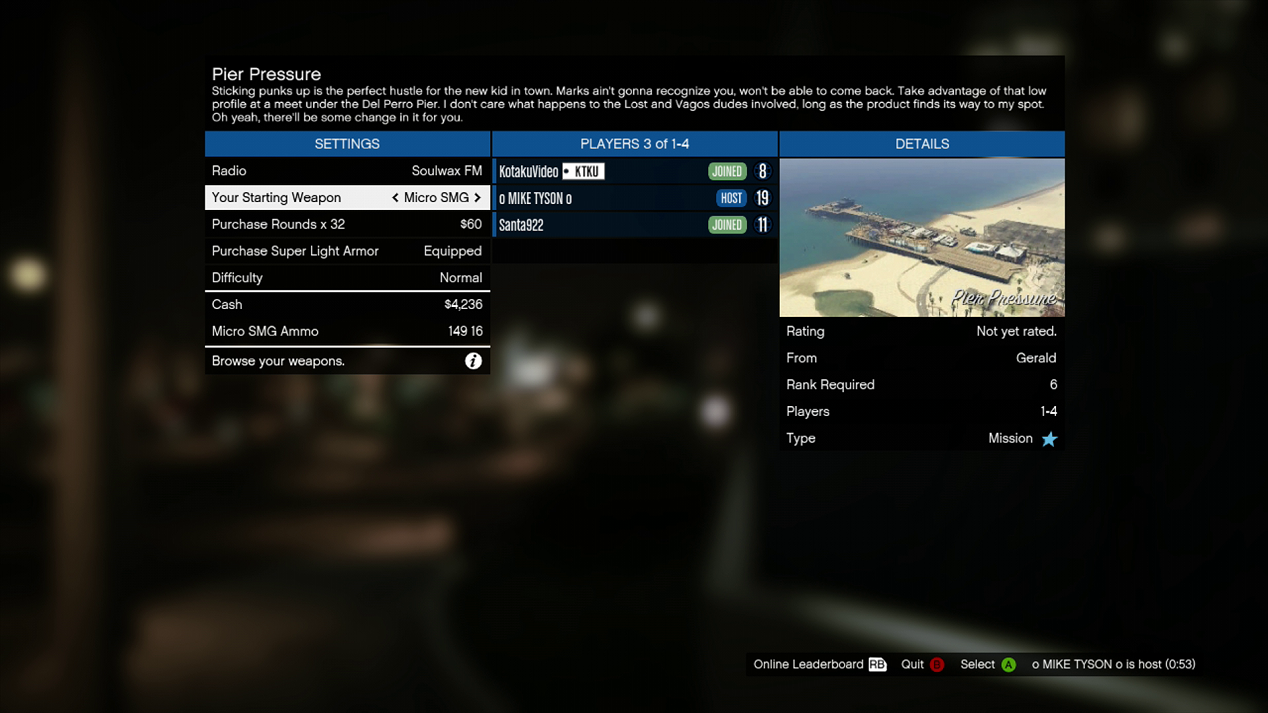 gta online jobs not loading