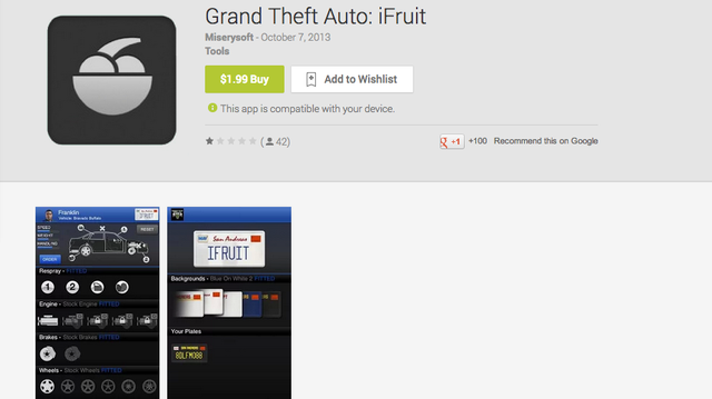 don 39 t buy this grand theft auto app on android. Black Bedroom Furniture Sets. Home Design Ideas