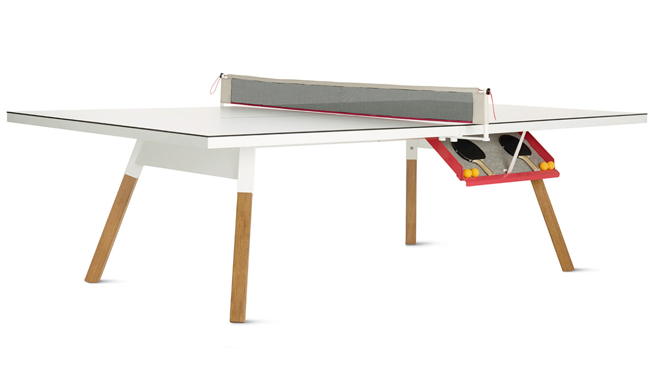 A Sleek Ping Pong Table You Won T Want To Hide In The