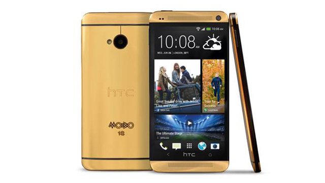 A Gold HTC One? That'll Cost You $4,400