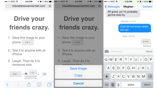 This iPhone Prank Tricks People Into Thinking They're Getting a Text