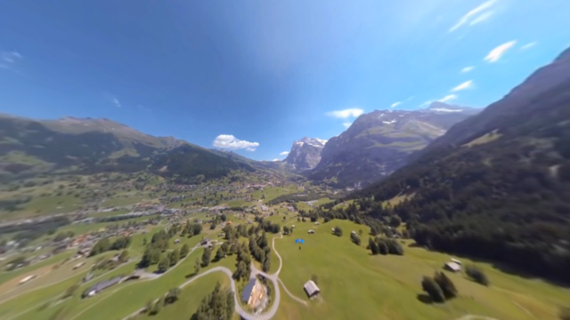 Soar Through the Alps With